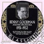 1951-1952 cd musicale di Benny goodman & his