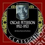 Oscar Peterson - 1952-1953 cd musicale di Oscar Peterson
