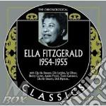 Ella Fitzgerald - 1954-1955 cd musicale di ELLA FITZGERALD