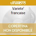 Variete' francaise cd musicale
