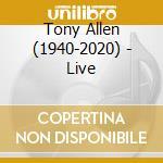 Live cd musicale di Allen Tony