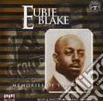 Memories of you cd musicale di Eubie Blake