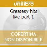 Greatesy hits live part 1 cd musicale di Renaissance