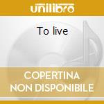 To live cd musicale