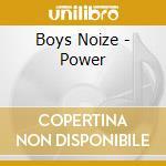 BOYSNOIZE POWER                           cd musicale di Noize Boys
