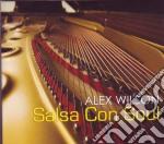 Salsa con soul cd musicale di Alex Wilson