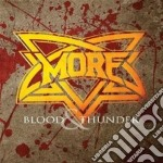 Blood & thunder cd musicale di More