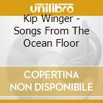 Songs from the ocean flood cd musicale di Winger Kip