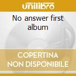 No answer first album cd musicale di Electric light orchestra