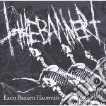 Each breath haunted cd musicale di Banner