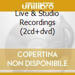 LIVE & STUDIO RECORDINGS (2CD+DVD) cd musicale di FLEETWOOD MAC
