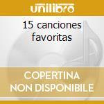 15 canciones favoritas cd musicale di Sergio Vargas