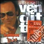 CAMPUS LIVE +BONUS DVD cd musicale di Antonello Venditti