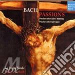 Bach passioni matteo e giovanni cd musicale di Gustav Leonhardt
