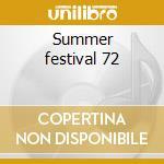 Summer festival 72 cd musicale di Elvis Presley