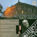 BEETHOVEN - CONCERTO PER VIOLINO - 2 ROM cd musicale di David Zinman
