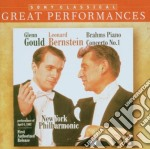BRAHMS - CONCERTO PER PIANO N. 1 cd musicale di Glenn Gould