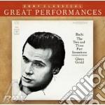 BACH - INVENZIONI A 2 E 3 PARTI cd musicale di Glenn Gould
