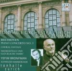 BEETHOVEN-CONC.PIANO N.5-FANT.CORALE-CAL cd musicale di David Zinman