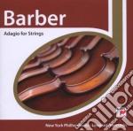Barber - Adagio E Altre Pagine Orchestrali - Bernstein cd musicale di Bernstein