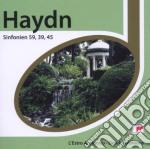 Haydn:sinfonie n.45,59 & 39 (serie espri cd musicale di Derek Solomons