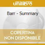 Summary cd musicale di BARR
