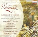 Pastorelle en musique cd musicale di Telemann georg phili