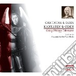 Cantate e odi (cantatas and odes) cd musicale di Telemann georg phili