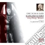 Telemann Georg Philip - Cantate E Odi cd musicale di Telemann georg phili