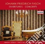Overtures e concerti cd musicale di Fasch johann friedri