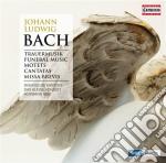 Trauermusik, funeral music, mottetten, m cd musicale di Johann Sebastian Bach