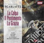 La colpa, il pentimento, la grazia cd musicale di Alessandro Scarlatti