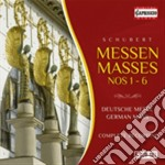 Masses nos.1-6 cd musicale di Franz Schubert