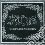 Funeral for yesterday + dvd cd musicale di Kittie