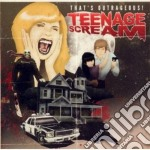 That's Outrageous! - Teenage Scream cd musicale di Outrageous! That's