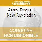 NEW REVELATION (DGPK) cd musicale di ASTRAL DOORS