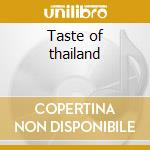 Taste of thailand cd musicale di Dinner party destination
