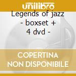 Legends of jazz - boxset + 4 dvd - cd musicale di Ramsey Lewis