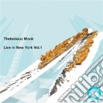 LIVE IN NEW YORK VOL.1 cd musicale di THELONIOUS MONK