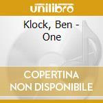 One-dig. i cd musicale di Ben Klock