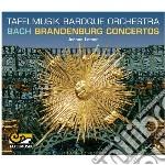 Concerti bradeburghesi cd musicale di Bach johann sebasti