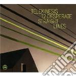12 desperate straight lines cd musicale di TELEKINESIS