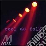 COOL AS FOLK  (R.THOMPSON/J.BAEZ/A. DI FRANCO/ETC...) cd musicale di ARTISTI VARI