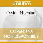 MACHLAUT                                  cd musicale di CRISK
