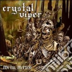 Metal nation cd musicale di Viper Crystal