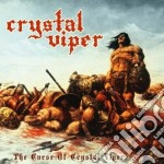 The curse of crystal viper cd musicale di Viper Crystal
