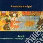 Anwar cd musicale di Ensemble Maraghi