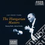 The hungarian masters: liszt, bartok, ko cd musicale di Artisti Vari