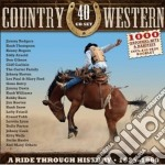 Country & western - box 40 cd cd musicale di Artisti Vari