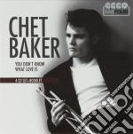 You don't know what love is cd musicale di Chet Baker